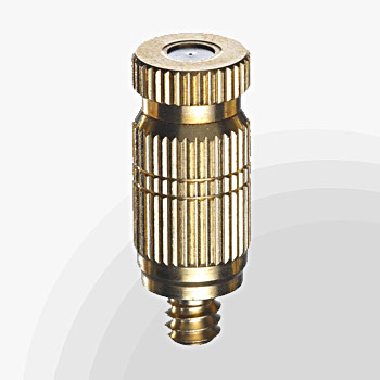 High pressure misting Brass & Stainless steel nozzles