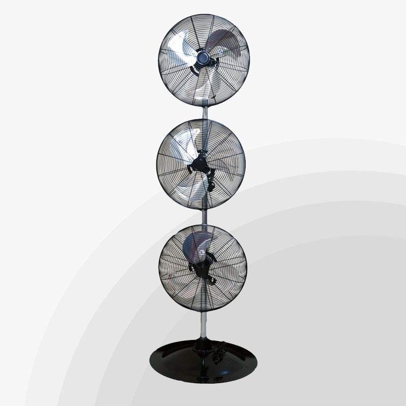 Big Stand Up Oscillating Fan : Fans in all purposed fan